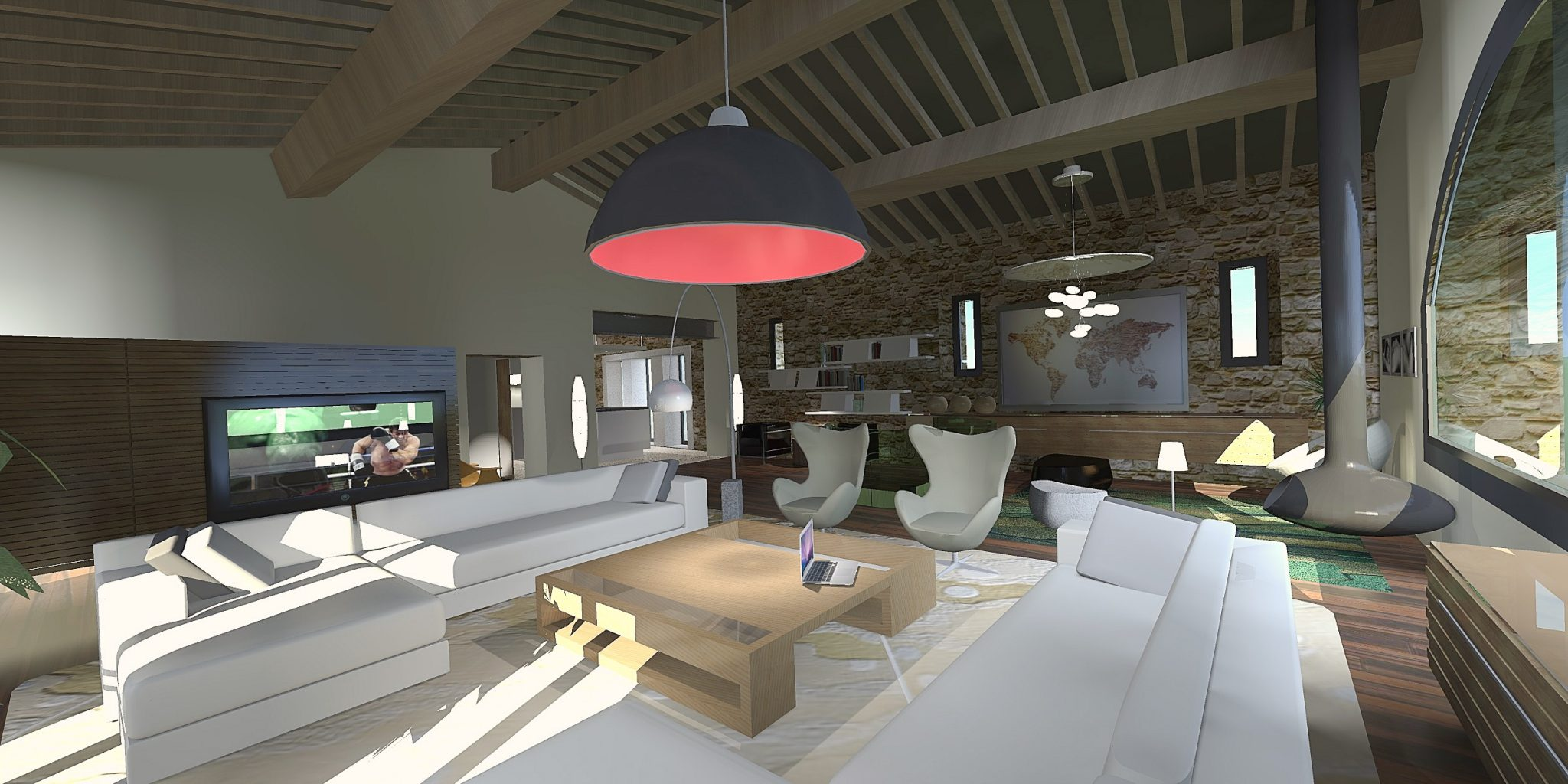 3D perspective interieur design