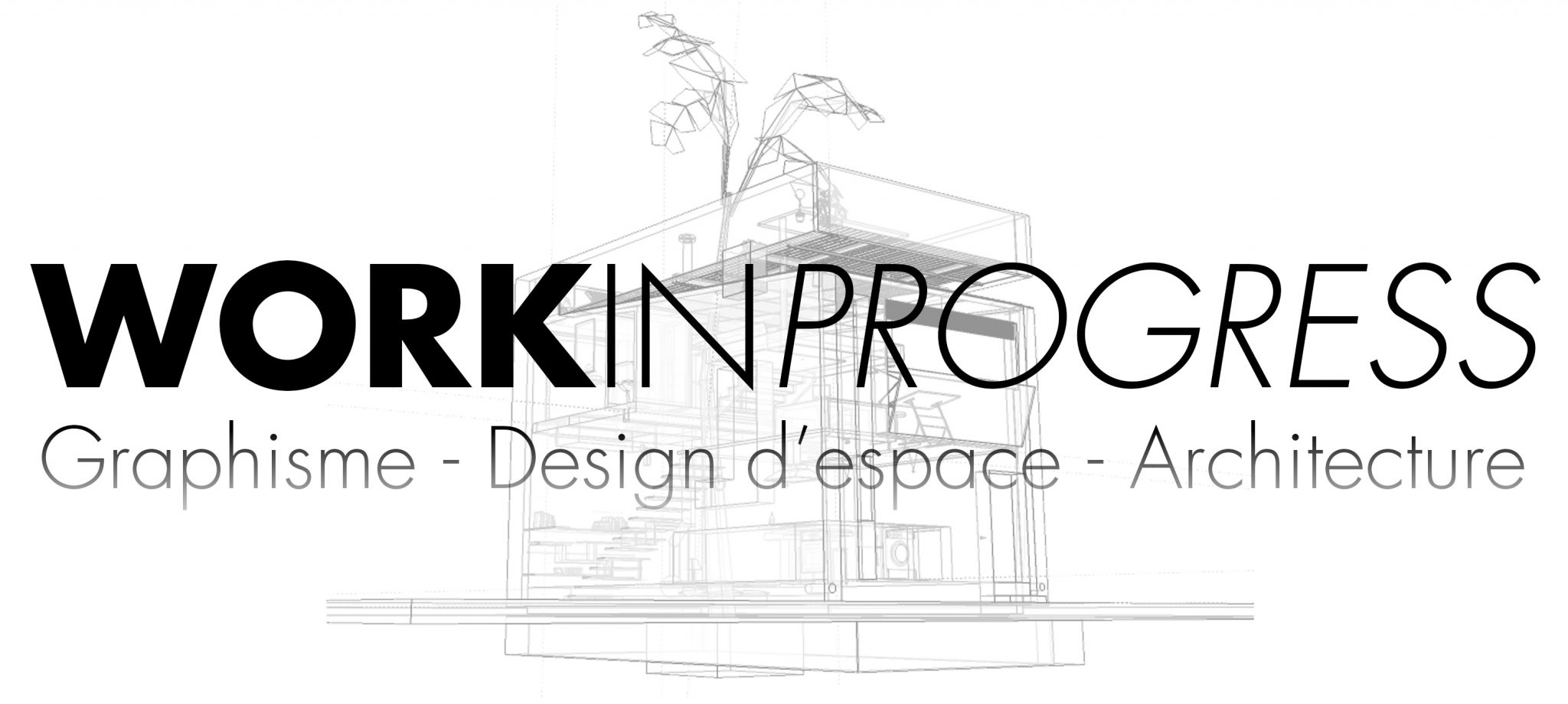WORKINPROGRESS -Studio 3D perspective architecture  design, Montpellier, Languedoc Roussillon