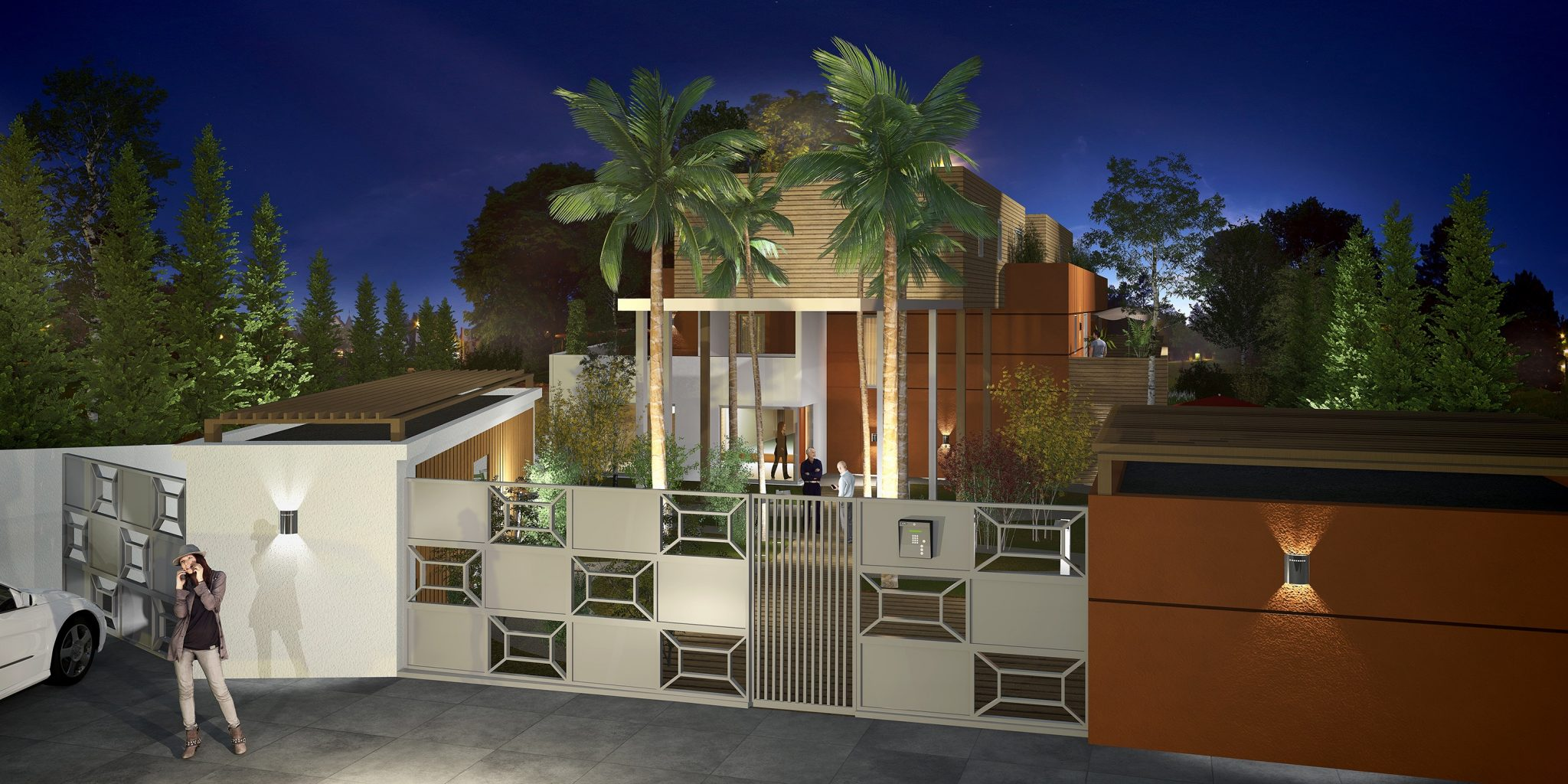 3D perspective Residence Montpellier 3