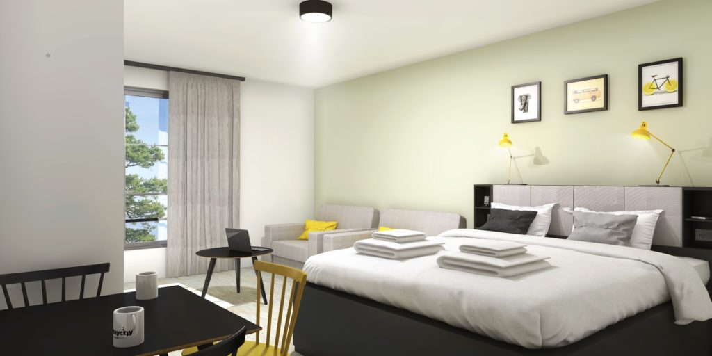 Chambre Hotel | WORKINPROGRESS -Studio 3D perspective architecture ...